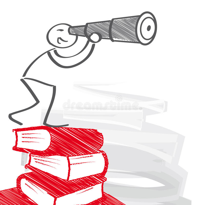 Edukacja i Carreer ilustracji