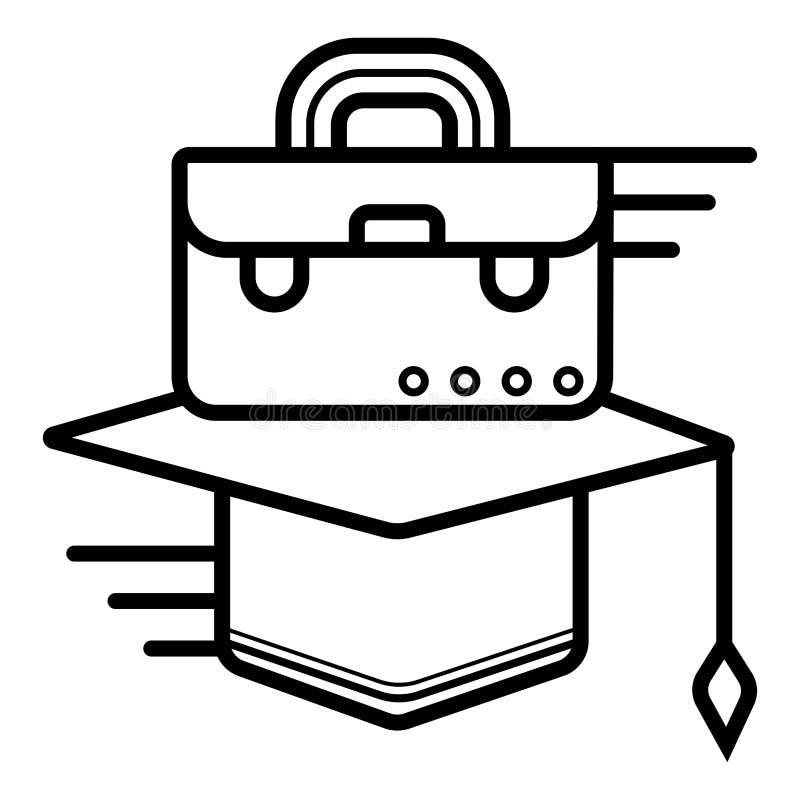 Edukacja i szkoły ikona ilustracji