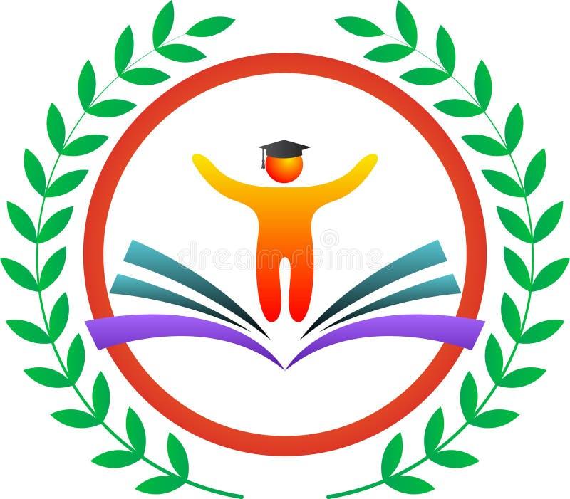 Edukacja logo ilustracji