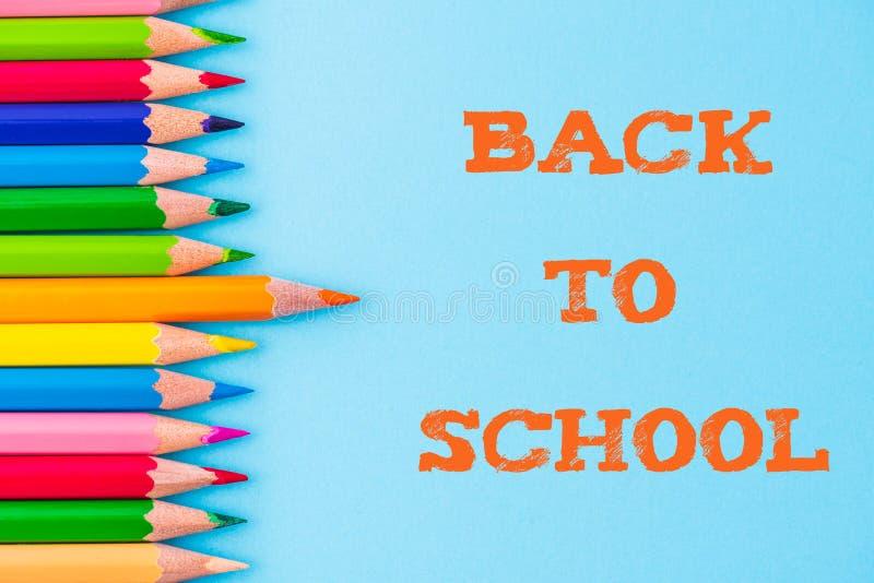 Edukacja szkoły pojęcie lub z powrotem obraz stock