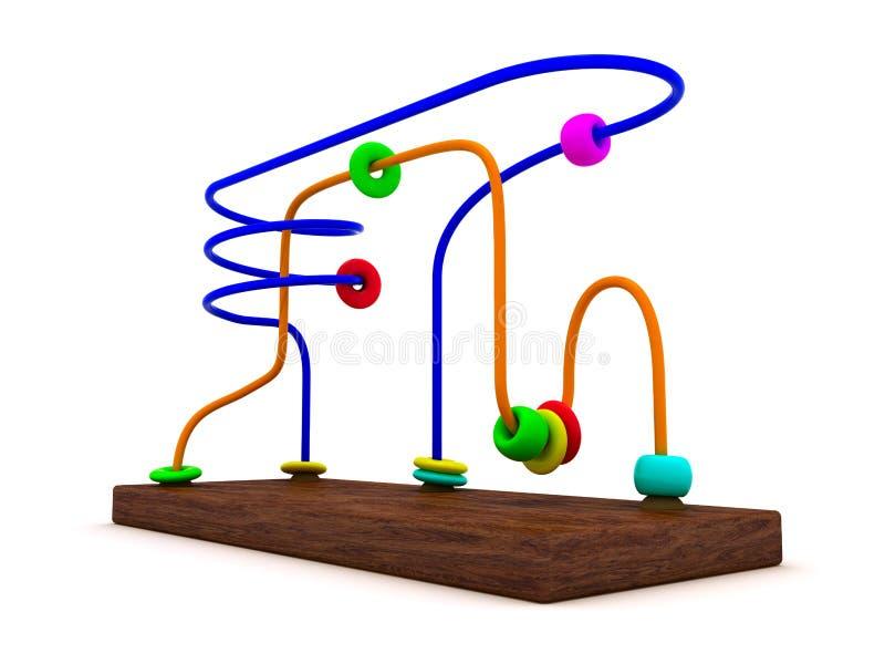 edukacyjna zabawka ilustracji
