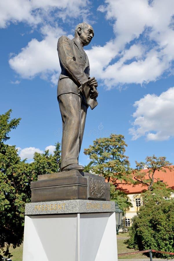 Edvard BeneÅ ¡, prezident 图库摄影