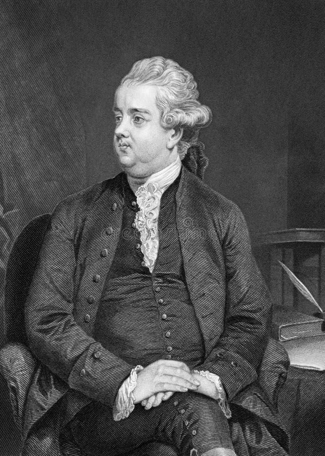 Edward Gibbon zdjęcia royalty free