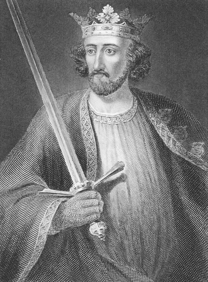 Edward I stock image