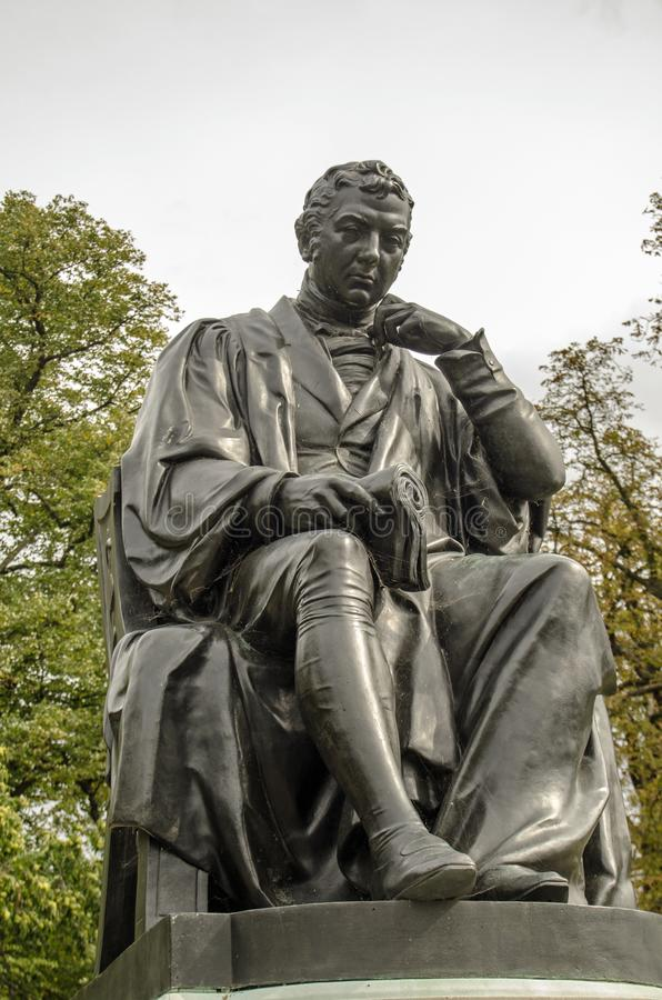 Edward Jenner-Monumentstatue, London stockfotos