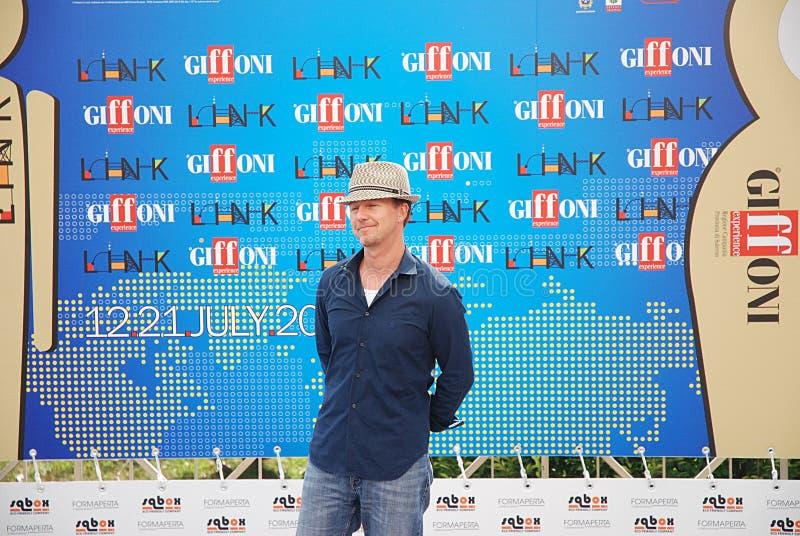 Edward Norton al Giffoni Film Festival 2011 immagini stock
