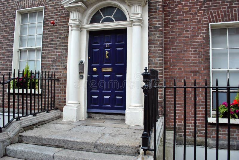 edwardian dörröppning royaltyfria foton