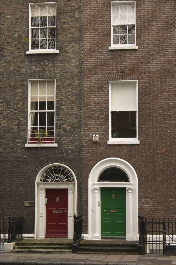 Edwardian Dublín fotografía de archivo libre de regalías