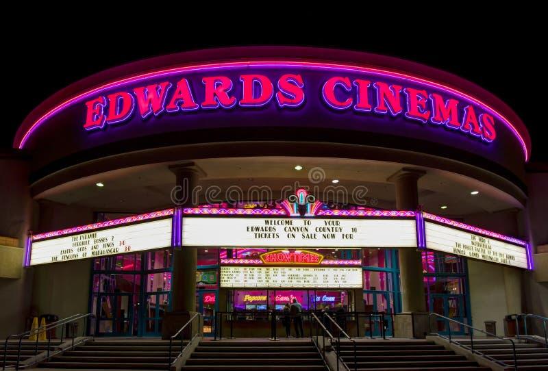 edwards cinema exterior editorial stock image image of