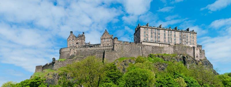 Edynburg kasztel obrazy royalty free