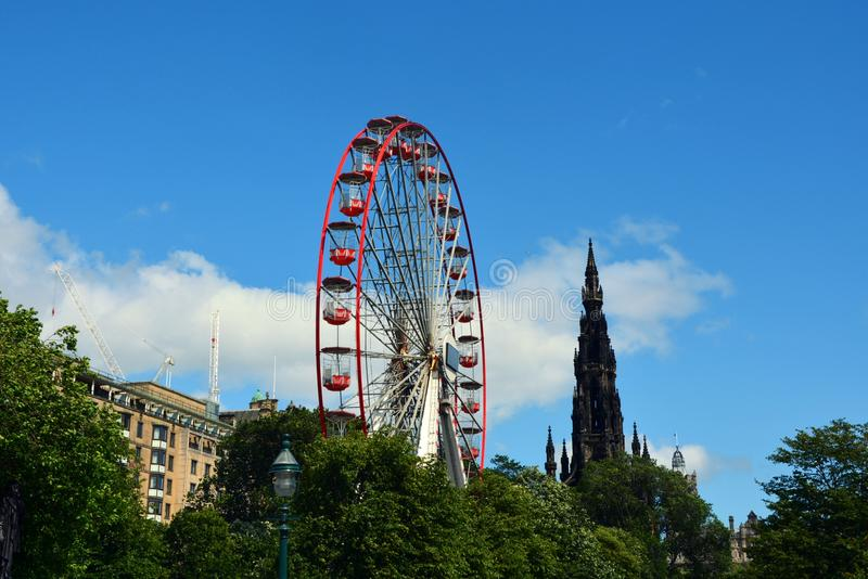 Edynburg Szkocja obraz royalty free