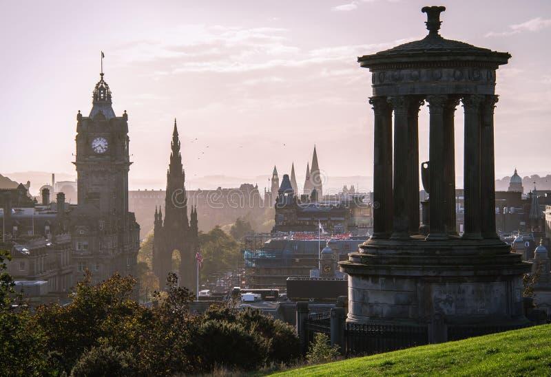 Edynburg, Szkocja zdjęcia royalty free