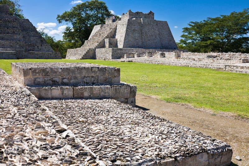 Edzna - vieille ville maya, Mexique photos stock