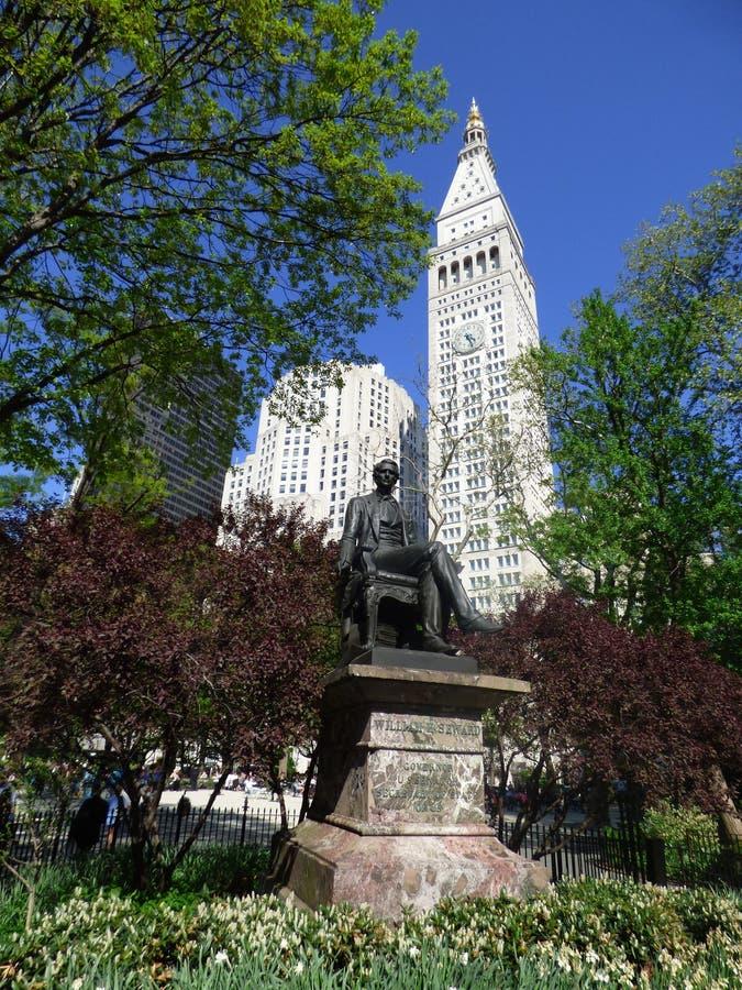EE.UU. Nueva York Madison Square Park fotos de archivo
