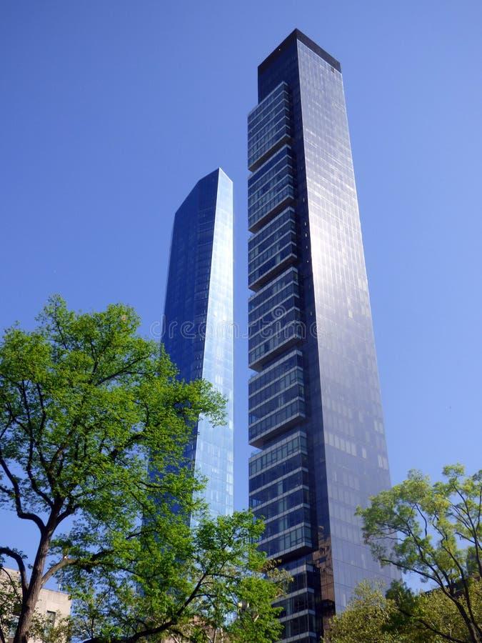 EE.UU. Nueva York Madison Square Park Un Madison Tower imagenes de archivo