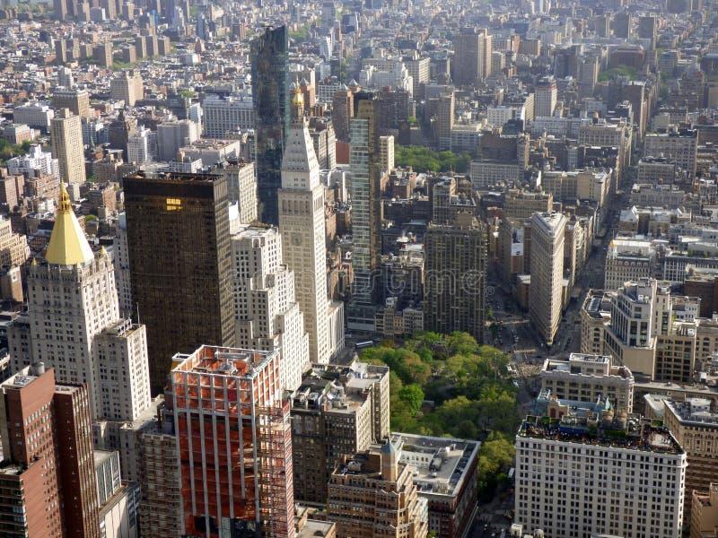 EE.UU. Nueva York Visión desde el Empire State Building imagen de archivo