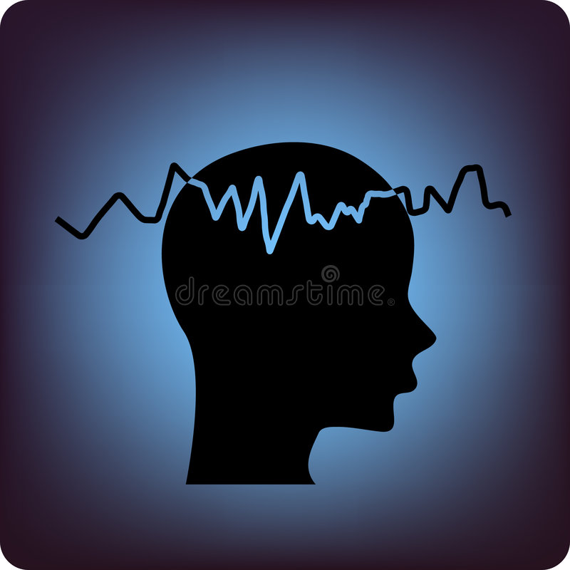 Download Eeg stock vector. Image of relaxed, amplitude, brain, signal - 4567075