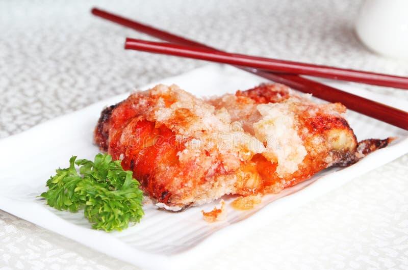 Download Eel Appetizer stock image. Image of chopsticks, breaded - 21010389