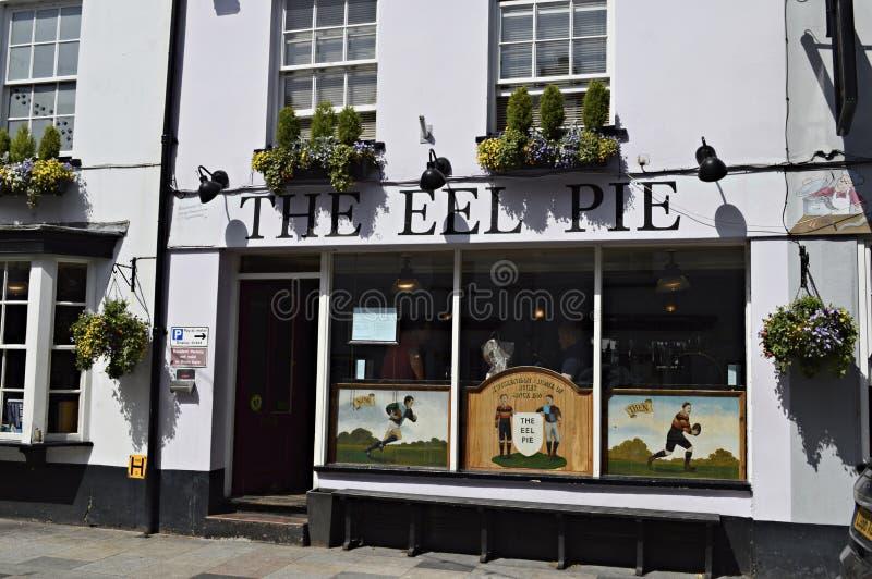 The Eel Pie Public House in Twickenham London UK stock images
