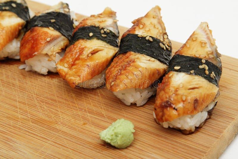 Download Eel sushi stock photo. Image of slice, tasty, seaweed - 21400886