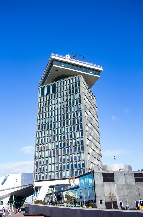 Een 'toren van het DAMvooruitzicht stock afbeeldingen