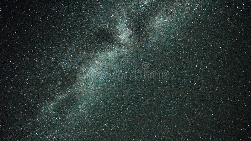 Een aardige scherpe foto van Melkweg royalty-vrije stock foto