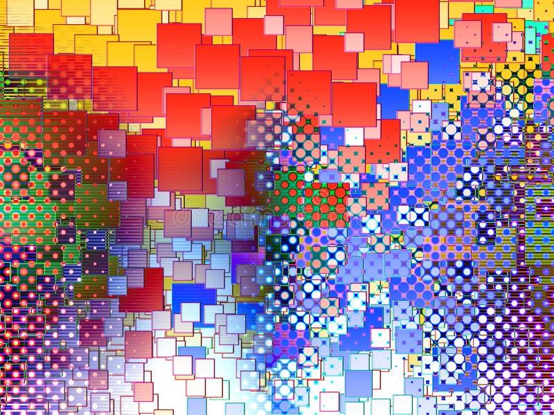 Een abstracte Achtergrond 4 stock illustratie