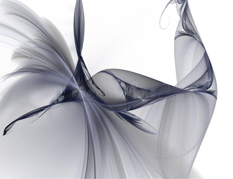 Een achtergrondontwerp op wit met trillende kleuren kan met tint worden aangepast en worden gezeten stock illustratie