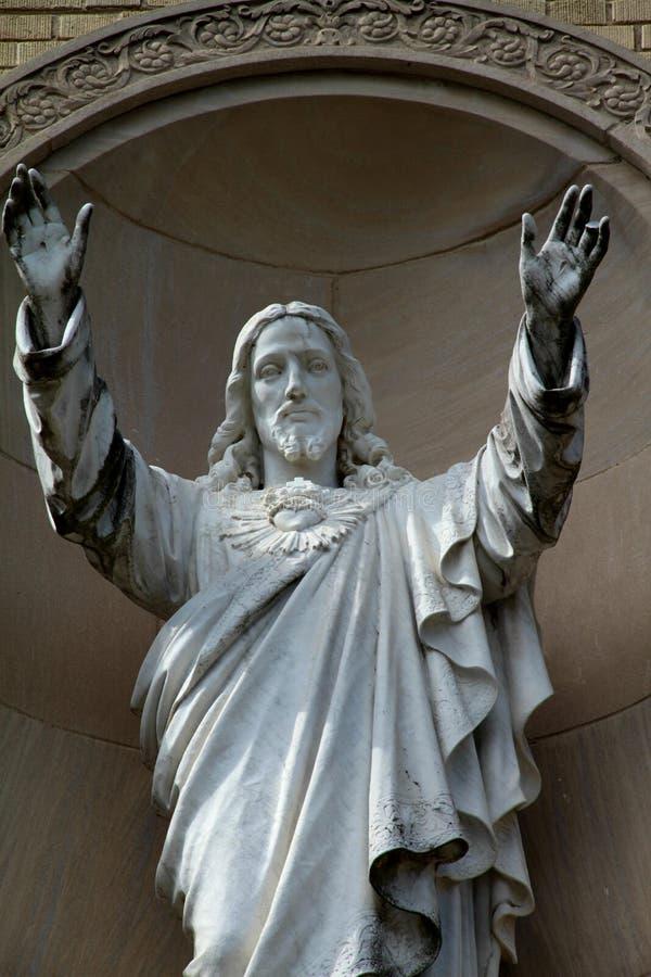 Een afbeelding van Jesus Christ stock foto's