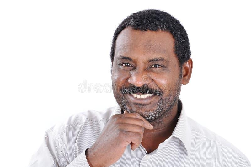 Een Afrikaanse Amerikaanse mens royalty-vrije stock fotografie
