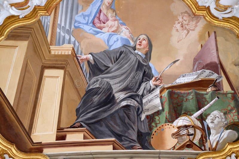 Een allegorie van art. royalty-vrije stock afbeelding
