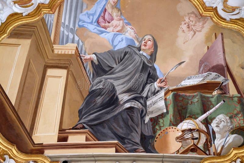 Een allegorie van art. royalty-vrije stock afbeeldingen