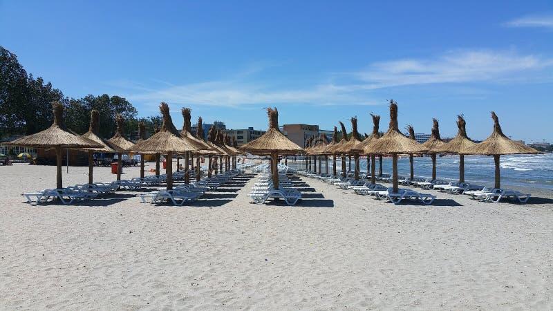 Een andere aardige dag bij het strand royalty-vrije stock afbeeldingen