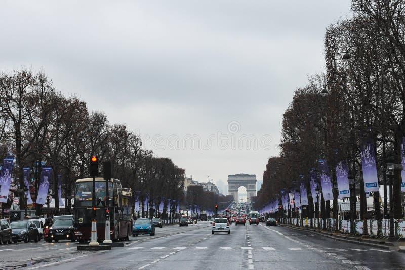 Een andere dag in Parijs royalty-vrije stock foto
