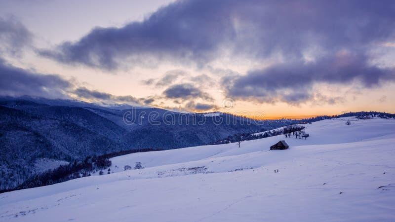 Een andere enkel zonsondergang royalty-vrije stock fotografie