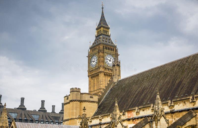 Een andere mening over Big Ben royalty-vrije stock afbeelding