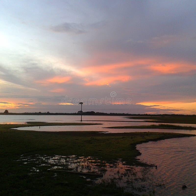 Een andere zonsondergang stock fotografie