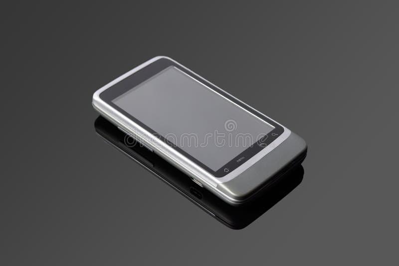 Een androïde mobiele telefoon stock foto