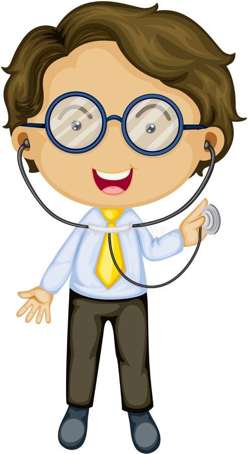 Een arts vector illustratie