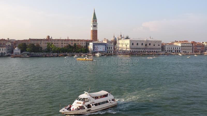 Een Avond in Venetië royalty-vrije stock afbeeldingen