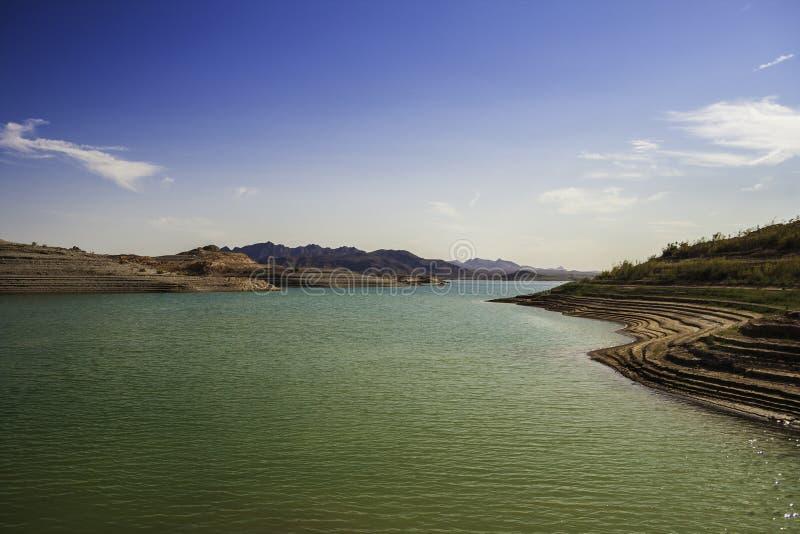 Een baai van het Meer Mead Nevada stock afbeelding