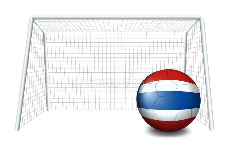 Download Een Bal Met De Vlag Van Thailand Vector Illustratie - Illustratie bestaande uit openlucht, spel: 39116914