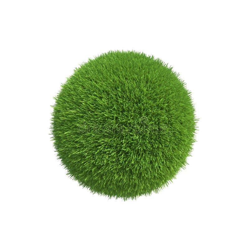 Een bal van groen gras