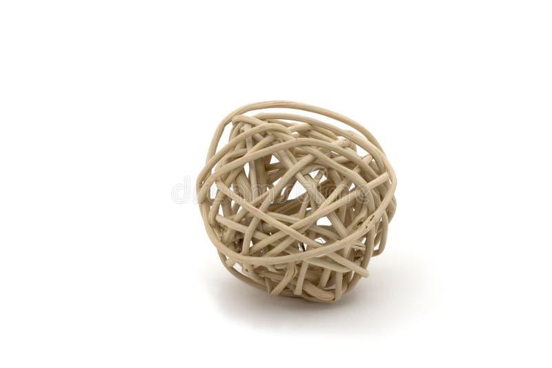 Een bal van stokken royalty-vrije stock foto