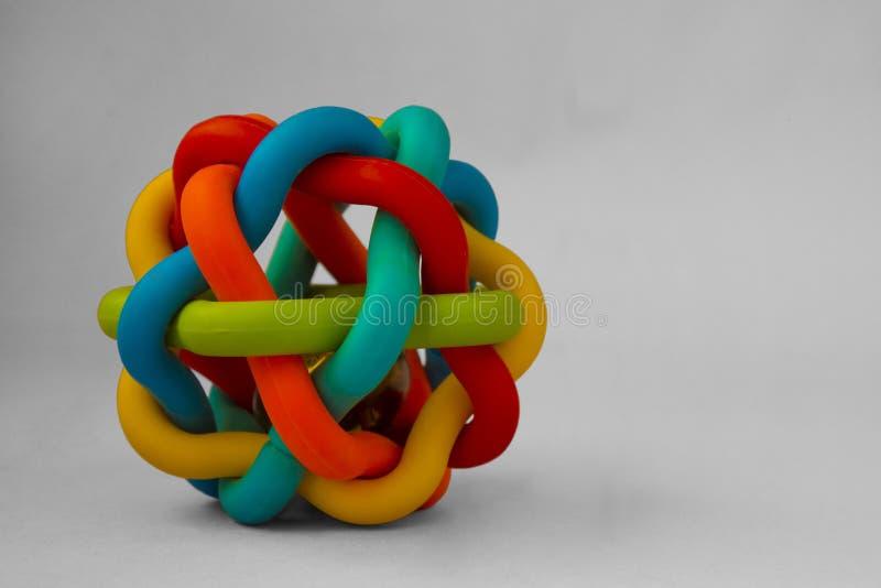 Een balstuk speelgoed voor een huisdier royalty-vrije stock afbeeldingen