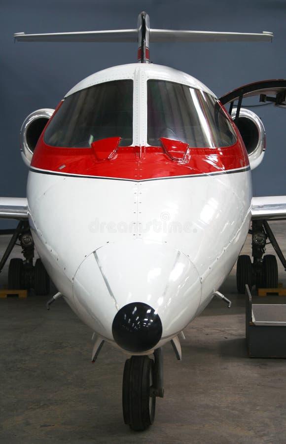 Een bedrijfs StraalVliegtuig royalty-vrije stock afbeelding