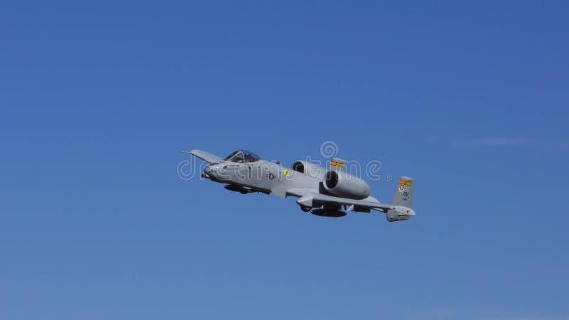 Een beeld van a-10 Blikseminslagvechter royalty-vrije stock afbeelding