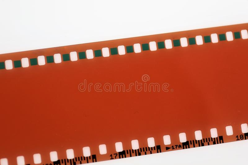 Een Beeld van een negatieve film - met exemplaarruimte stock afbeeldingen