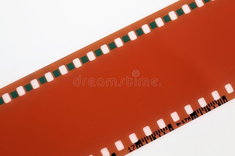 Een Beeld van een negatieve film - met exemplaarruimte stock foto