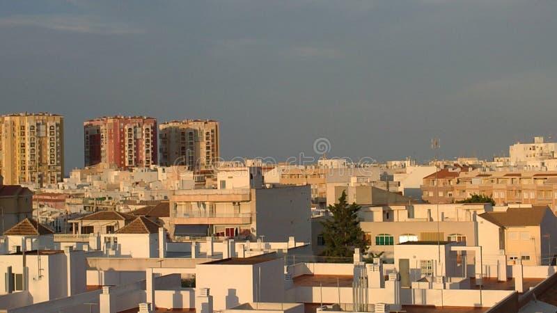Een beeld van Torrevieja in Spanje stock fotografie